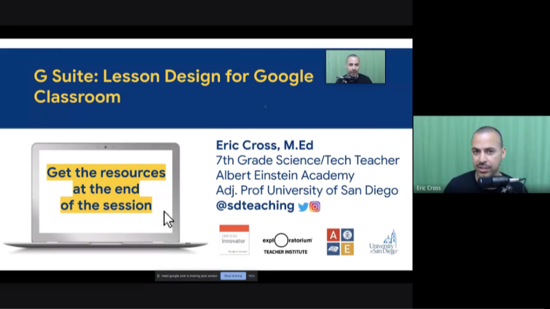 G Suite: Lesson Design for Google Classroom