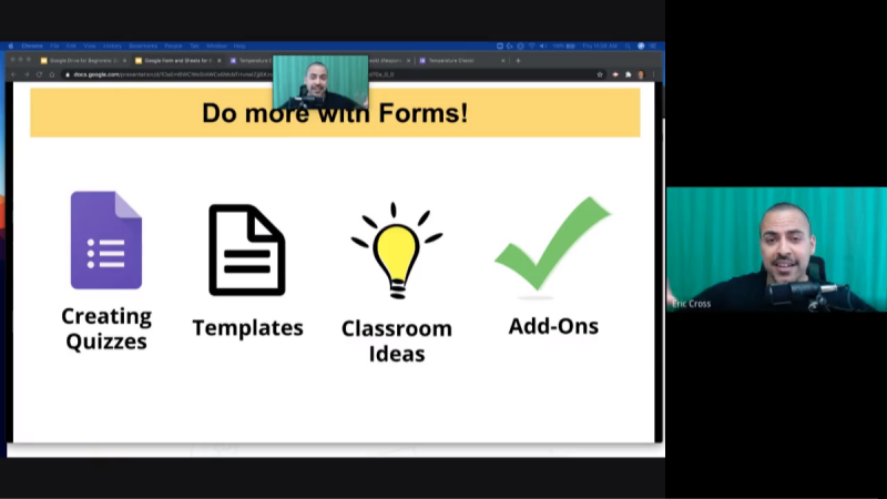 G Suite: Forms and Sheets