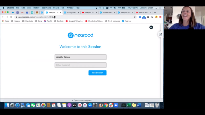 Education in Sync with NearPod