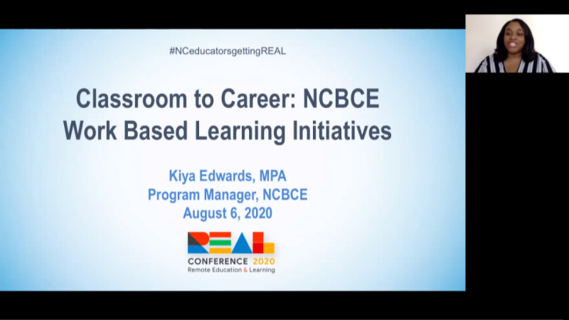 Classroom to Career: NC Business Committee for Education Work-Based Learning Initiatives