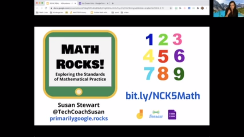 Making Elementary Math Visible, Virtually!