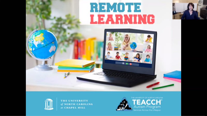 Applying Structured TEACCHing Principles to Virtual Learning Environments