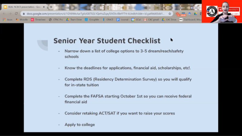 College Applications and Financial Aid