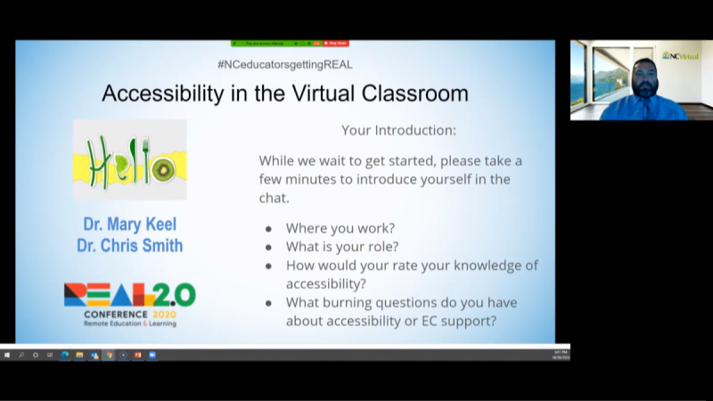 Accessibility and EC Support in Blended and Online Classrooms