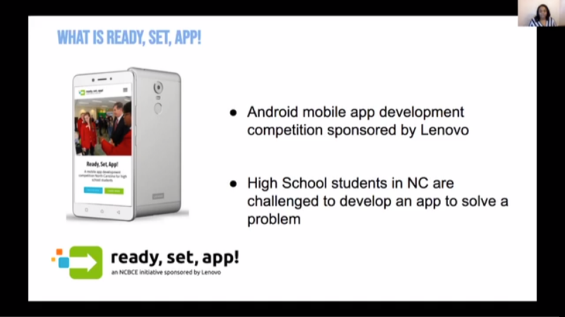 Ready, Set, App! Kickoff - Mobile App Development Competition for High School Students