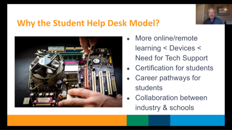 Student-Led Help Desk: Empowering Students and Supporting District IT Staff