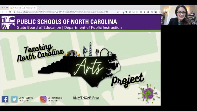 Teaching NC Arts Project