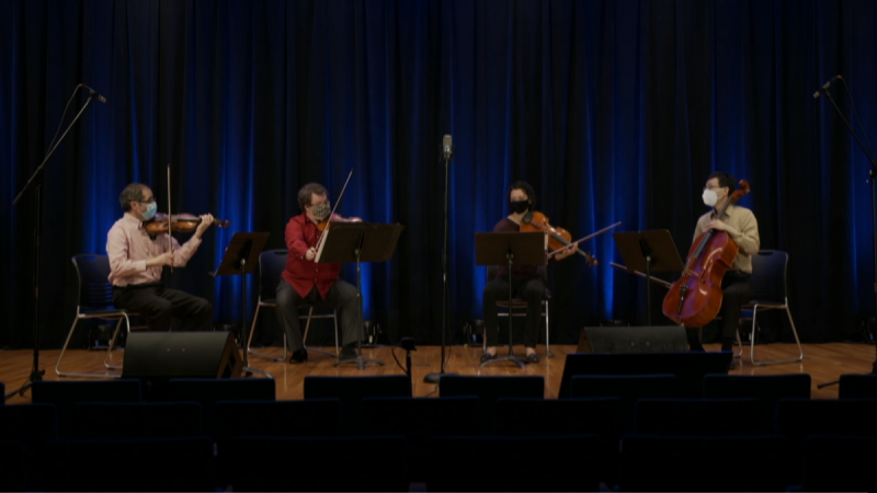 NC Symphony String Quartet Performance for K-5 Students and Teachers