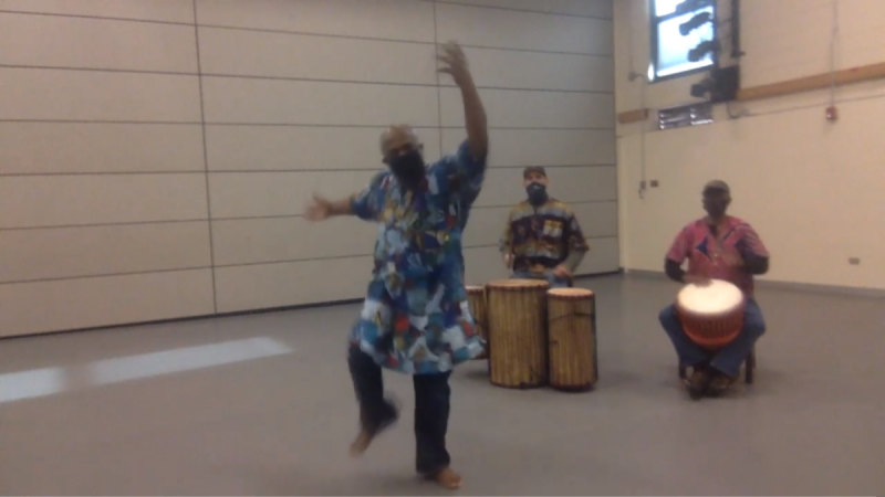 West African dance movement and music is needed today