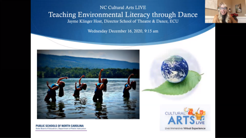 Teaching Environmental Literacy through Dance