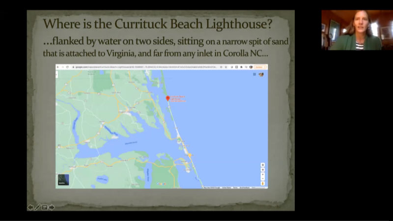 Currituck Beach Lighthouse - Illuminating the One Unlighted Break from Maine to Florida